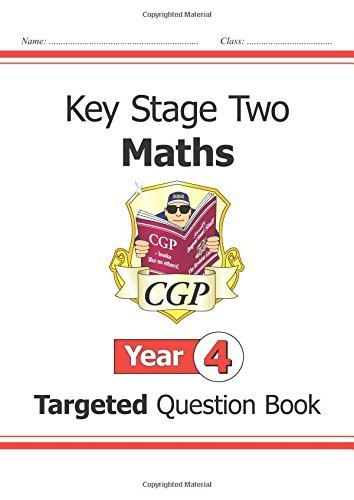 KS2 Maths Targeted Question Book - Year 4 (for the New Curriculum) by Cgp Books (2015-05-18)