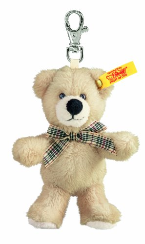 Steiff 112300 - Schluesselanhaenger Teddybär, 11 cm, beige