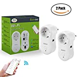 Presa Wifi Intelligente Spina Wireless Presa, Bawoo Adattatore Universale USB...