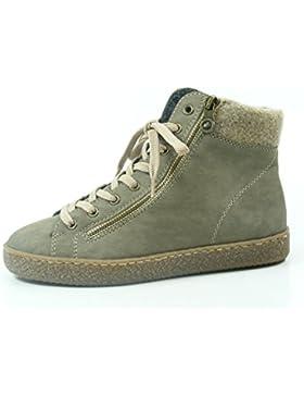 Rieker Damen High Top Sneaker Grau