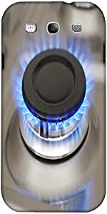 Snoogg Gas Burner Designer Protective Back Case Cover For Samsung Galaxy S3