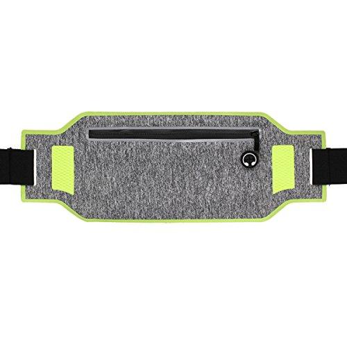 GXYLLDS Deporte Bolsa Casual Cinturón Cintura Estiramiento Cintura Diseño Transpirable Malla Impermeable Auricular Perro Caminar Y Andar En Bicicleta,Pink-OneSize