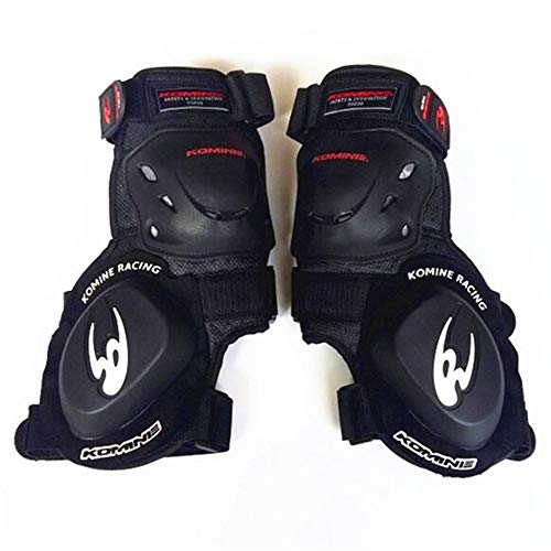 IN THE DISTANCE Ginocchiera moto professionale Genouillèrekomine Protective Road Racing Dedicated Curved Grinding Block Slider Racing Plus Bend Ginocchiere, A