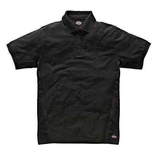 dickies-sh2004-bk-l-two-tone-polo-taille-l-noir