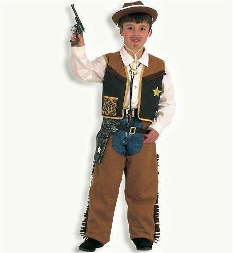 Kostüm Texaner - Texaner Cowboy 2tlg Kinder Kostüm Gr 140