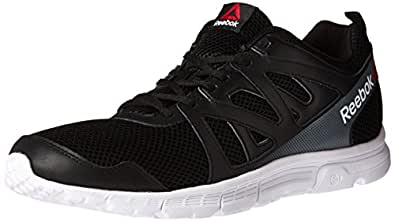 Reebok Men's Run Supreme 2.0 Mt Running Shoe, Black/White/Alloy, 15 4E US