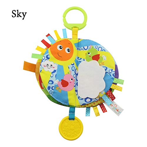 Glhkkp-toy Soft Book Durable Tuch-Buch for Babys,
