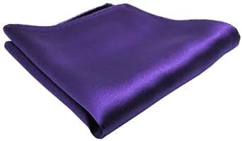 schönes gewebtes Einstecktuch in der Farbe Lila-Flieder 100% Seide