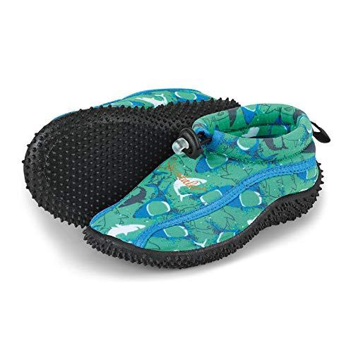 Sterntaler Jungen Aqua Schuhe, Grün (Pfefferminz 499), 26 EU