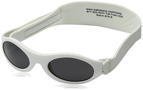 Baby Banz 01/AW weiss Baby Banz Wrap Sunglasses Lens Category 3 Lens Mirrored