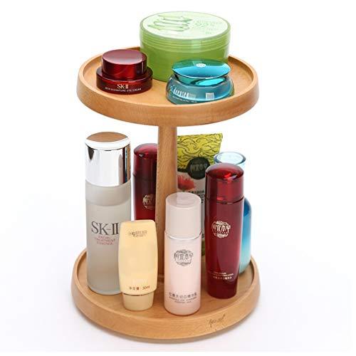 Support de Maquillage Détachable de Degré D'organisateur de Maquillage Tournant, Boîte de Stockage D'organisateur de Cosmétiques de Grande Capacité