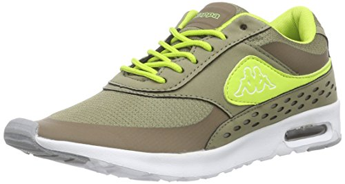 kappa-milla-damen-sneakers-grun-3433-khaki-lime-39-eu-6-damen-uk