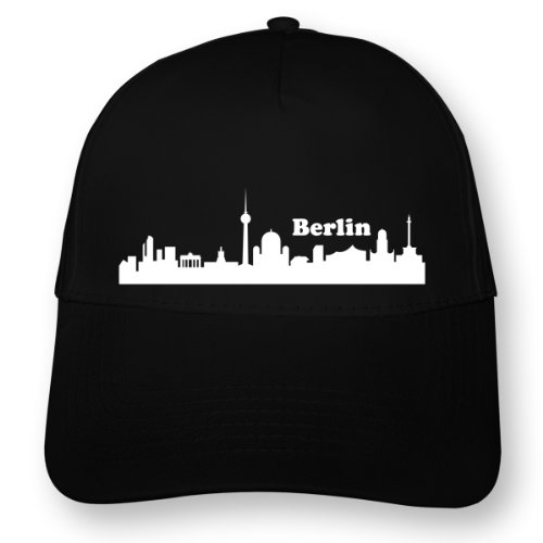 Skyline4u Kappe Berlin Skyline Collage Myrtle Beach 5 Panel Cap OneSize schwarz/weiß