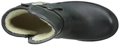 Ca'Shott Damen A14065 Biker Boots Schwarz (black 130)