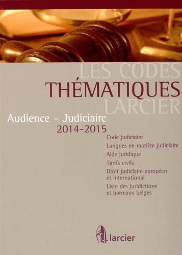Audience Judiciaire 2014-2015