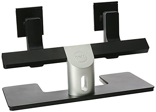 Dell MDS14 Computer Dual Monitor Stand (Silver and Black)