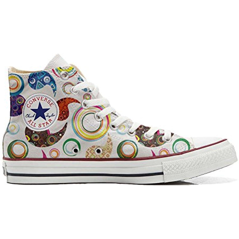 mys Converse Adulte All Star Hi Chaussures Coutume Mixte Adulte Converse (Produit Artisanal) Happy Paisley - B06X95P9CR - 6808da