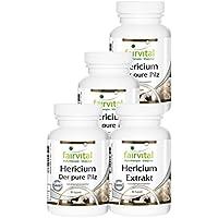 Hericium Vierteljahresversorgung mit Pilzpulver und Pilzextrakt 360 vegetarische Kapseln preisvergleich bei billige-tabletten.eu