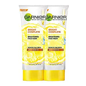 Garnier Skin Naturals, Light Complete Facewash, 100g Each (Pack Of 2), 272 (Pack of 2)