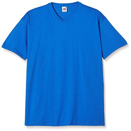 Fruit of the Loom Herren T-Shirt Blau (Königsblau)