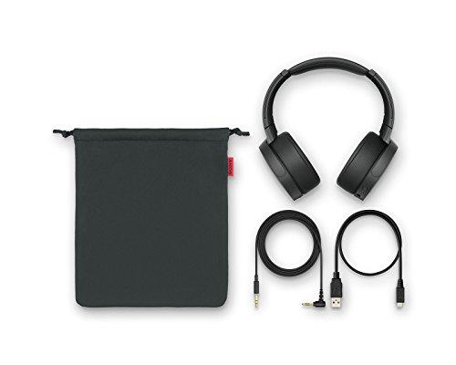 Sony MDR-XB950N1 kabelloser Kopfhörer mit Geräuschminimierung (Noise Cancelling, Extrabass, NFC, Bluetooth, faltbar) grün - 6