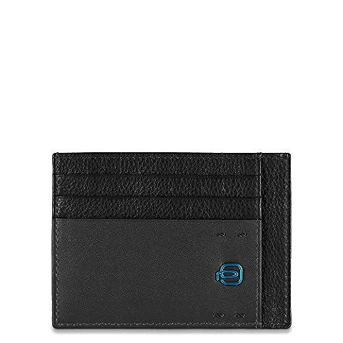 Piquadro pp2762p15Tür Kreditkarten, Linie Pulse, schwarz (schwarz) - PP2762P15/N