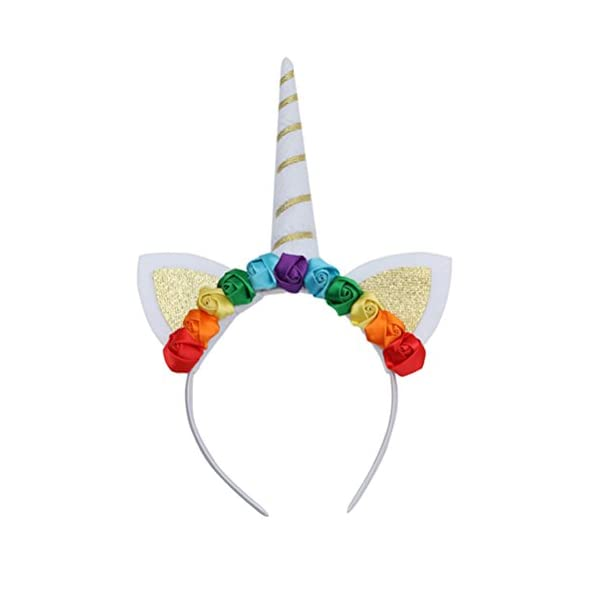 prima qualità acquistare ben noto LUOEM Cerchietto Unicorno per capelli con corno di unicorno per bambini
