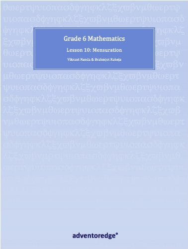Grade 6 Mathematics Lesson 10 (iPad Math Learning Guides) (English Edition)