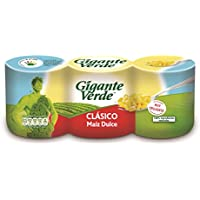 Gigante Verde - Clásico - Maíz dulce - 3 x 160 g