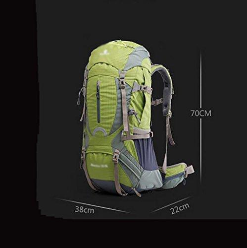 Imagen de  montaña  al aire libre multi  funcional equipos al aire libre de gran capacidad hombres y mujeres hombro viajes  bolsa de escalada 60l  de marcha  color  a  alternativa