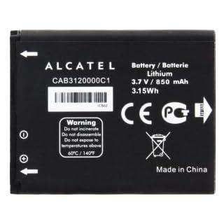 Batterie Original für Alcatel One Touch By42 2005 2005D, One Touch 536 850 mAh Li-Ionen-Massen