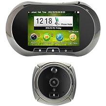 Mirilla digital GSM con grabación de vídeo por movimiento, visión nocturna
