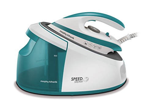 Morphy Richards 333203 Speed Steam Generator Iron, 3000 W, 3.662 Kilograms, Teal Best Price and Cheapest