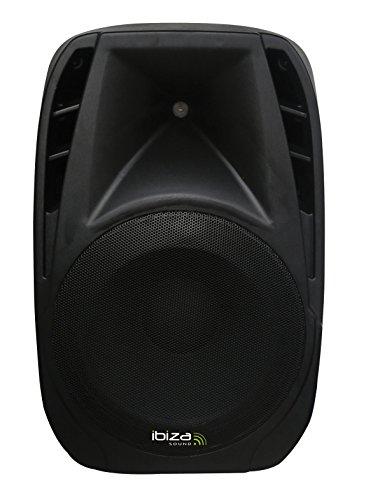 Ibiza BT10A - Bafle activo portátil, 10', 25 cm