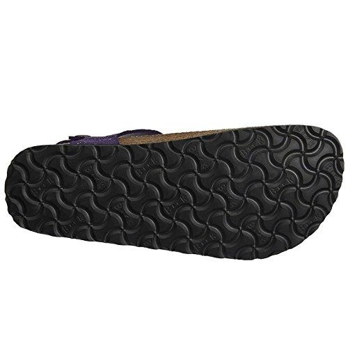 Papillio Womens by Birkenstock Kairo Leather Sandals Grace Violet