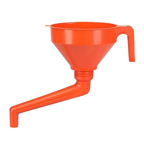 Pressol - Imbuto in plastica con tubo ad angolo inclinato