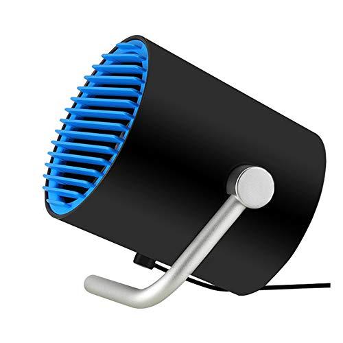 Mini tragbarer Tischventilator, leiser Luftreiniger Luftbefeuchter mit Zyklon Luftwirbelkühler Kleiner persönlicher USB-Tischventilator für Reisen zu Hause oder im Freien Easy-touch-notebook