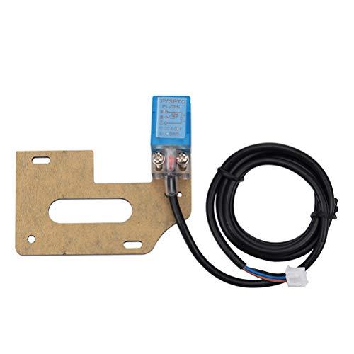 UKCOCO Sensore di auto-livellamento Sensore di prossimità induttivo Sensore di inclinazione automatico Include piastra di montaggio e viti
