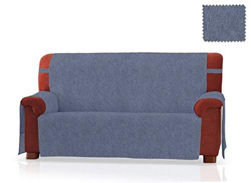 JM Textil Sofaschoner Pharma Größe 3 Sitzer (160 cm), Farbe Blau