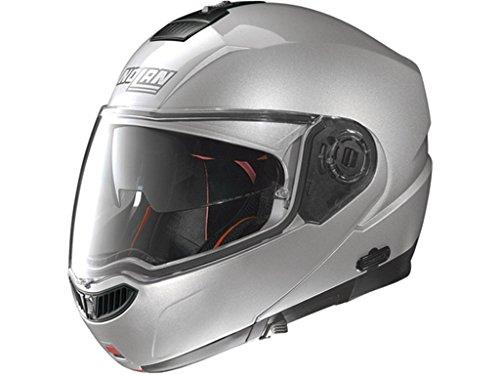 N104Absolute–Casco–Casco de Moto Special N-Com Salt silb