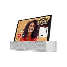Lenovo Smart Tab M10 con Amazon Alexa 26,18 cm (10,3 pollici, 1920x1200, FHD, IPS, Touch) Tablet PC (Octa-Core, 4 GB RAM, 64 GB eMCP, Wi-Fi, Android 9) Argento con Smart Dock