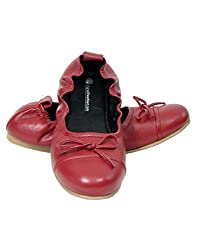 Red colour Maternity Washable pregnancy shoes for Women (36)