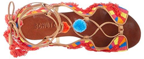 Schutz - S0-14300192, Scarpe con cinturino Donna Mehrfarbig (Desert)