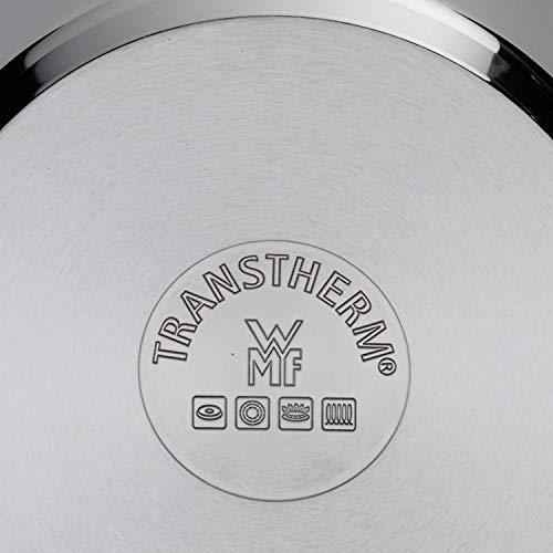 WMF Kochtopf Ø 14 cm ca. 0,9l Mini stapelbar Schüttrand Metalldeckel Cromargan® Edelstahl poliert induktionsgeeignet spülmaschinengeeignet