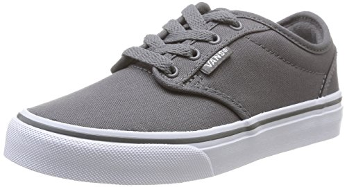 Vans ATWOOD Unisex-Kinder Sneakers Grau ((Canvas) Pewter 4WV)