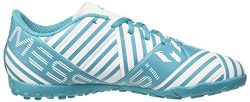 adidas Herren Nemeziz Messi 17.4 TF Fußballschuhe Blau (Footwear White/Legend Ink/Energy Blue)