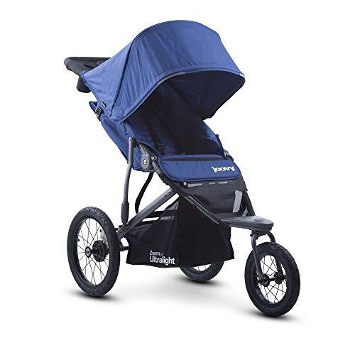 Joovy Zoom 360 Ultralight Jogging Kinderwagen, Blaubeere (Autositz Für Jogging-kinderwagen)