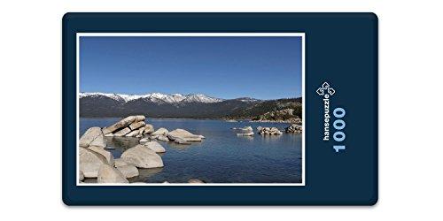 hansepuzzle 26309 Natur - Lake Tahoe, 1000 Teile in hochwertiger Kartonbox, Puzzle-Teile in wiederverschliessbarem Beutel