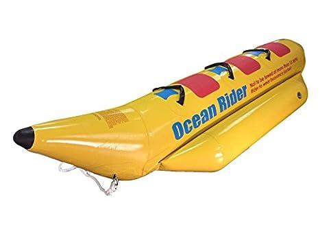 Ocean Rider gonflable Jaune clair classique Banana Boat Remorquable