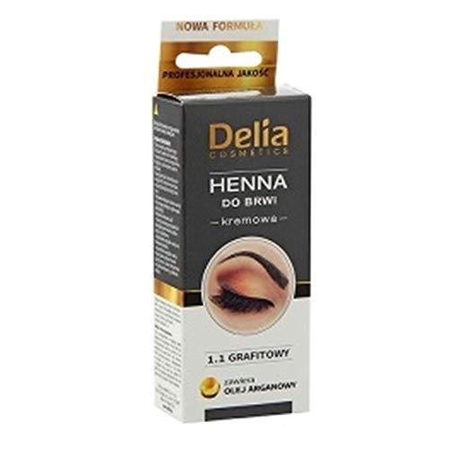 Delia Henna Cream Graphite 15 Application
